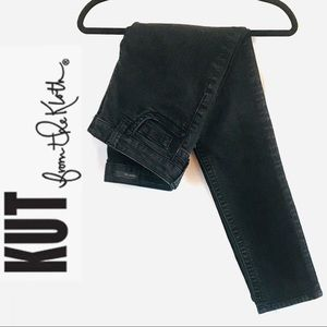 Kut from the Kloth Black Straight/Skinny Jeans